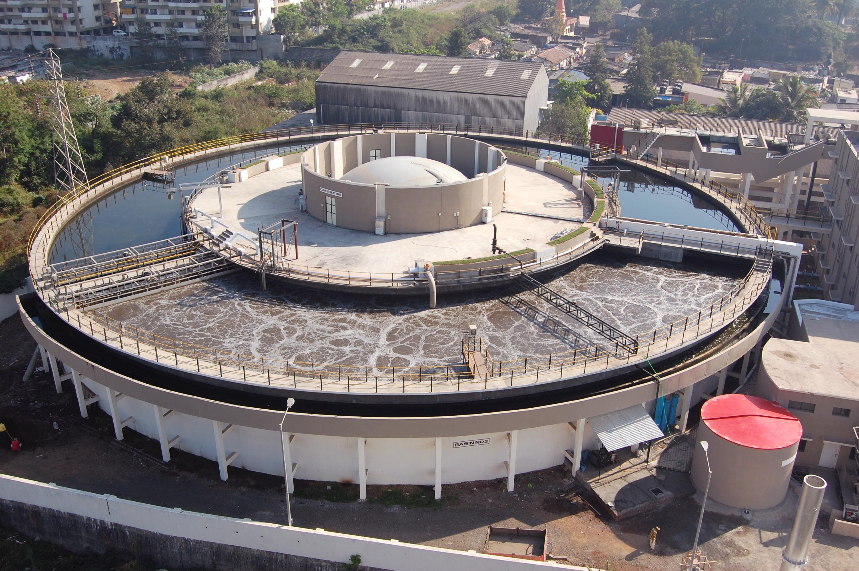 30 MLD capacity STP @ Akurdi, Pune based on Combitreat-ISBR technology